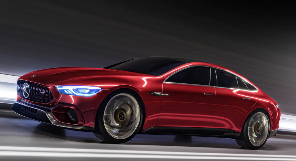 Mercedes AMG GT Concept thumb at Official: Mercedes AMG GT Four Door Concept
