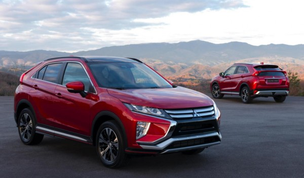 Mitsubishi Eclipse Cross 0 600x353 at Mitsubishi Eclipse Cross Officially Unveiled