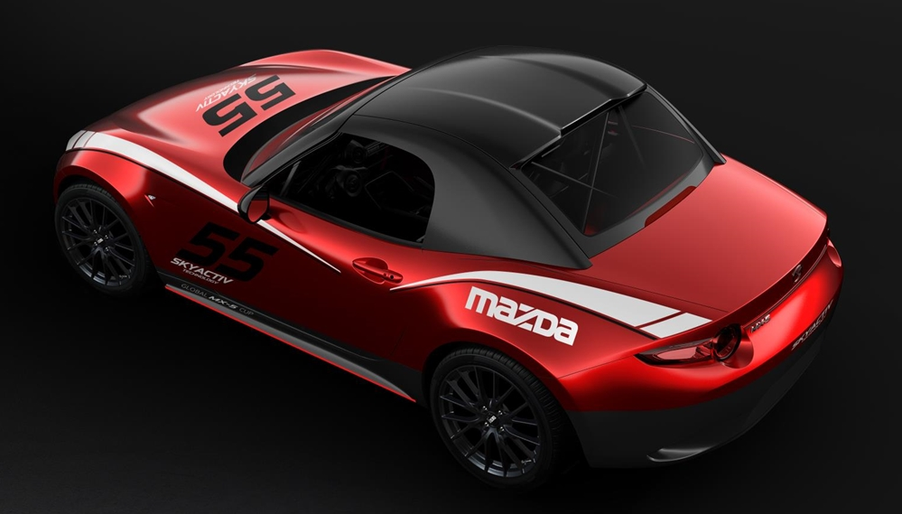 hardtop available for mx 5 cup race car at Mazda MX 5 Cup Finally Gets a Hardtop