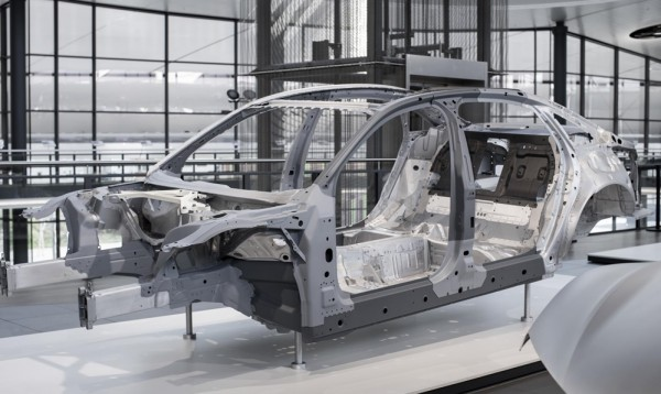 a8 space frame 600x358 at New Audi A8 Space Frame Revealed in First Teaser
