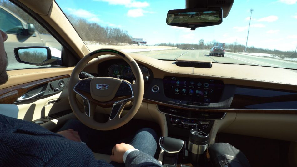 cadillac super cruise at 2018 Cadillac CT6 Gets Super Cruise Hands Free Driving System