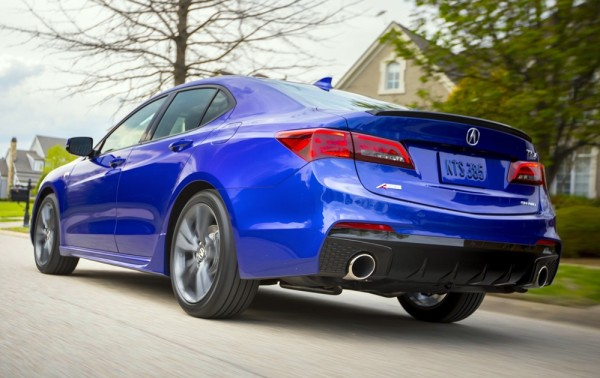 2018 Acura TLX 049 600x378 at 2018 Acura TLX Pricing and Specs