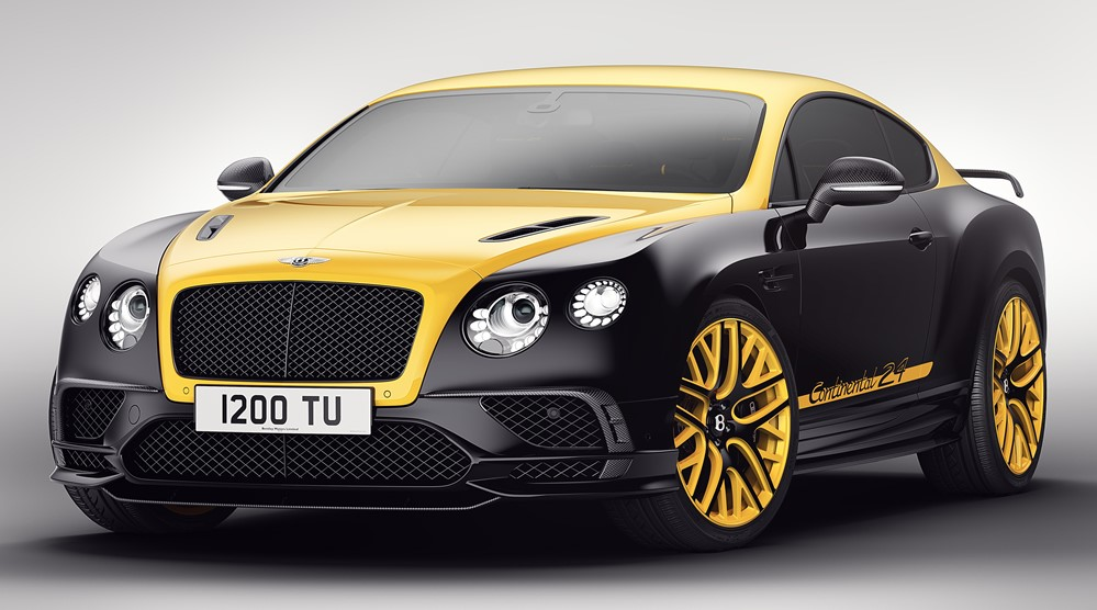 Continental 24 1 at Bentley Continental 24 Edition Celebrates Nurburgring Race