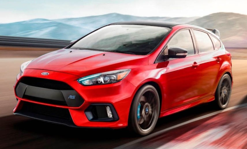 2018 Ford Focus RS Limited Edition Is a Swansong