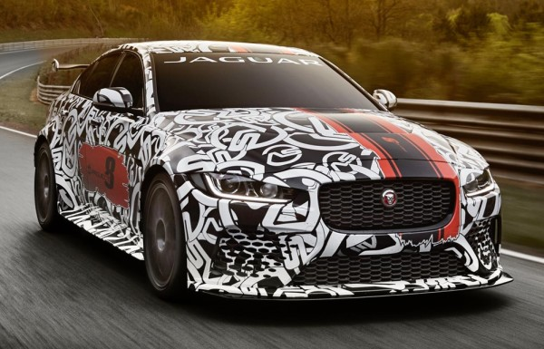 Jaguar XE SV Project 8 0 600x385 at Jaguar XE SV Project 8 Announced with 600 PS