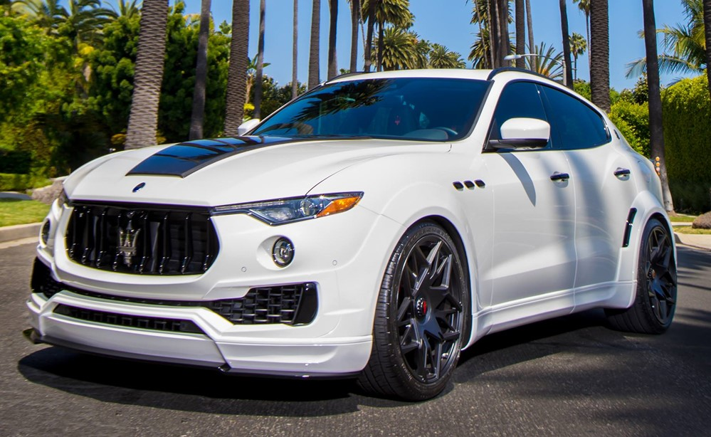 Novitec Maserati Levante Esteso 0 at Novitec Maserati Levante Esteso Has a Lot of Pizzazz!