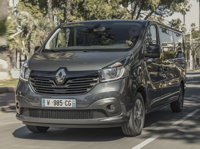 Official Renault Trafic Spaceclass