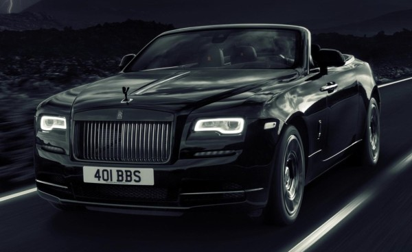 Black Badge Dawn 1 600x368 at Rolls Royce Dawn Black Badge Set for GFoS Debut
