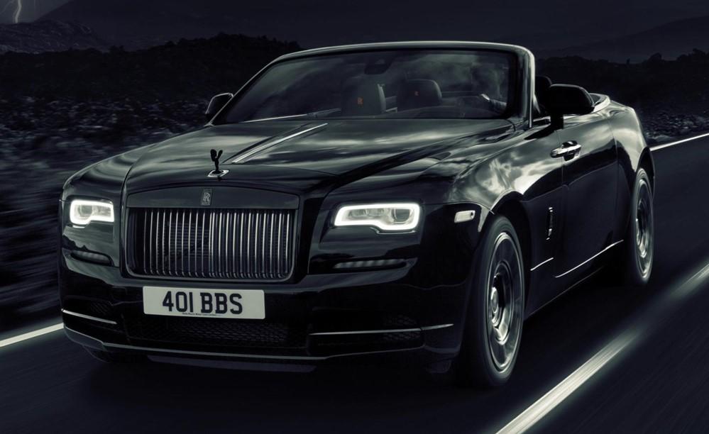 Black Badge Dawn 1 at Rolls Royce Dawn Black Badge Set for GFoS Debut