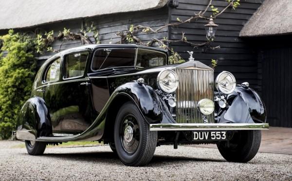 Monty Rolls Royce Phantom III 1 600x371 at Field Marshal Montgomerys Rolls Royce Phantom III Goes on Display
