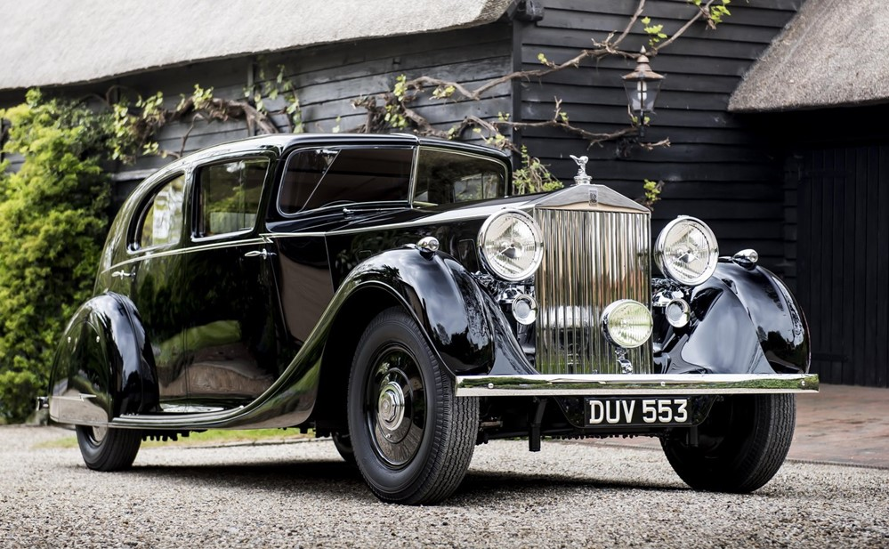 Monty Rolls Royce Phantom III 1 at Field Marshal Montgomerys Rolls Royce Phantom III Goes on Display