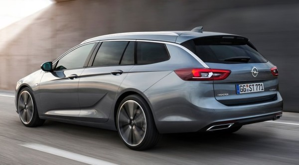 Opel Insignia Sports Tourer 2018 1 600x331 at Official: 2018 Opel Insignia Sports Tourer