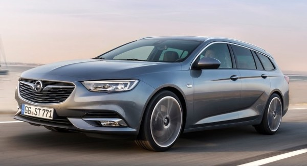 Opel Insignia Sports Tourer 2018 2 600x325 at Official: 2018 Opel Insignia Sports Tourer