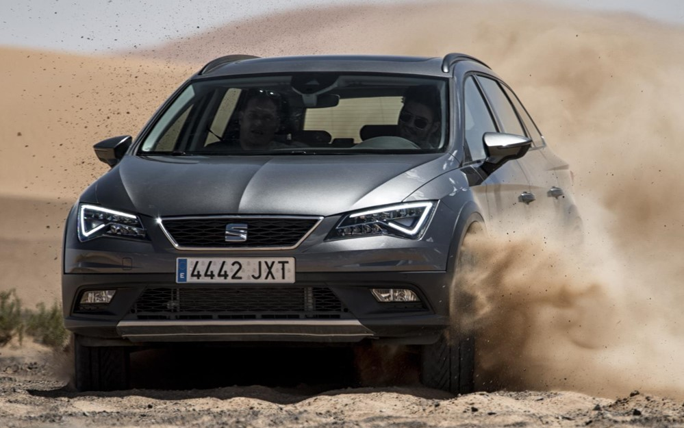 SEAT Leon X Perience at SEAT Leon X Perience Hits the Sahara Desert
