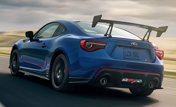 Subaru BRZ tS 1 600x365 at Official: 2018 Subaru BRZ tS