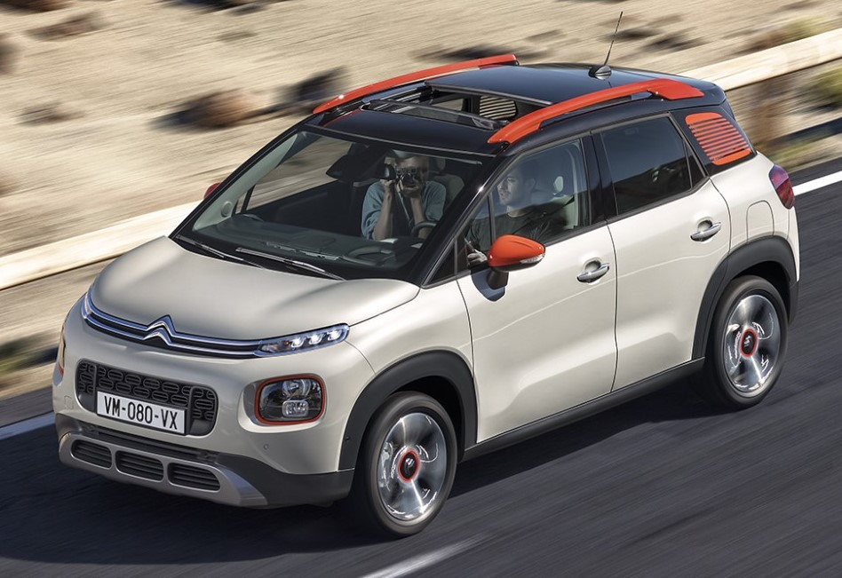 citroen c3 aircross 0 at Official: 2017 Citroen C3 Aircross