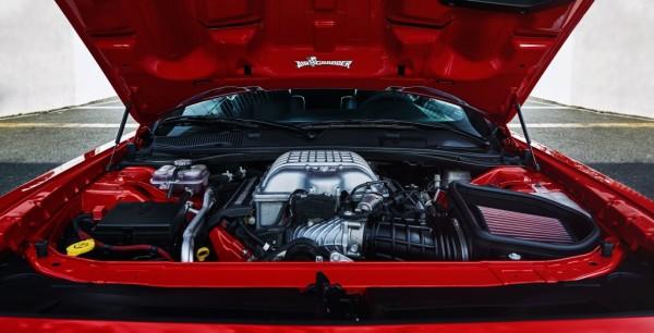 demon v8 engine 600x306 at Dodge Challenger SRT Demon   Powertrain Highlights