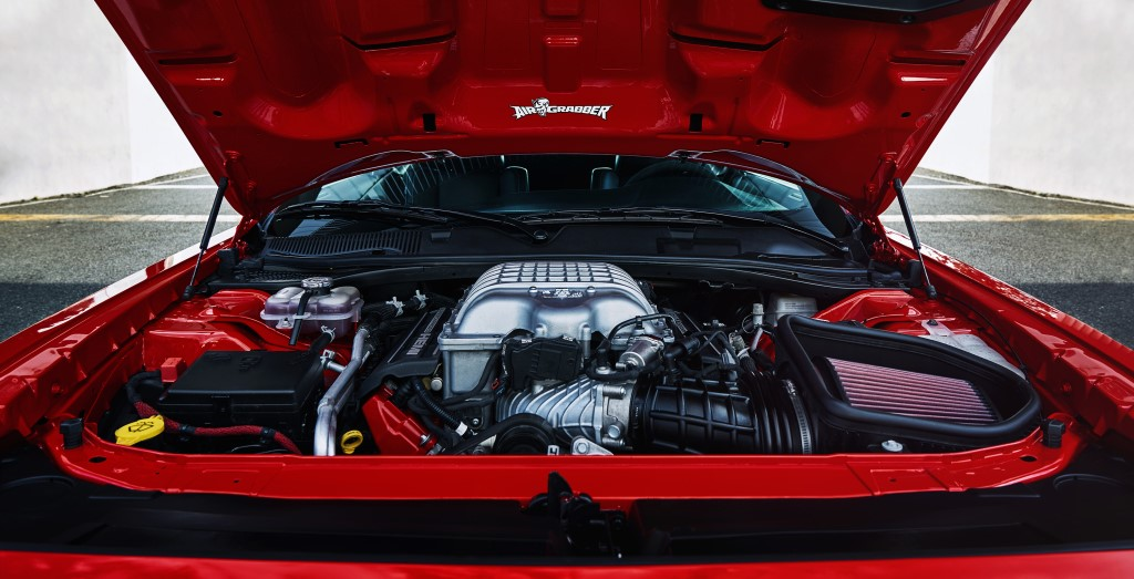 demon v8 engine at Dodge Challenger SRT Demon   Powertrain Highlights