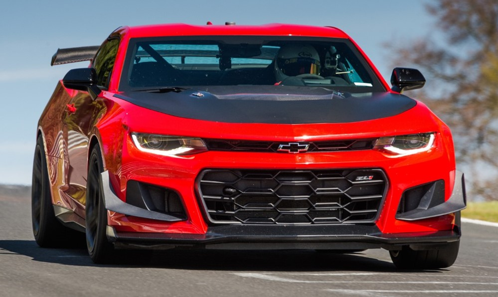at 2018 Camaro ZL1 1LE Tackles Nurburgring