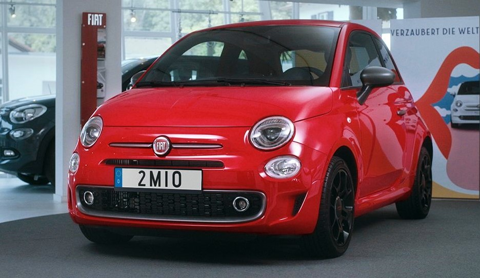 2 millionth fiat 500 at 2 Millionth Fiat 500 Delivered in Germany