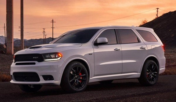 2018 Dodge Durango SRT 4 600x347 at 2018 Dodge Durango SRT Pricing Announced