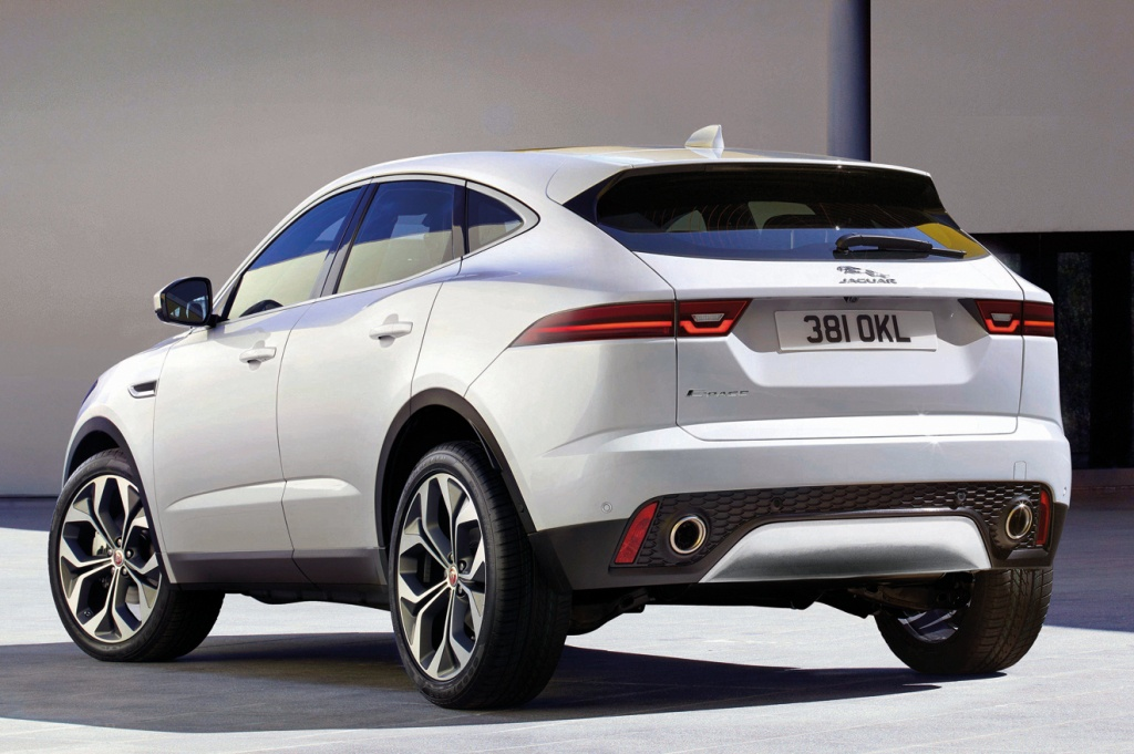 Official: 2018 Jaguar E-Pace