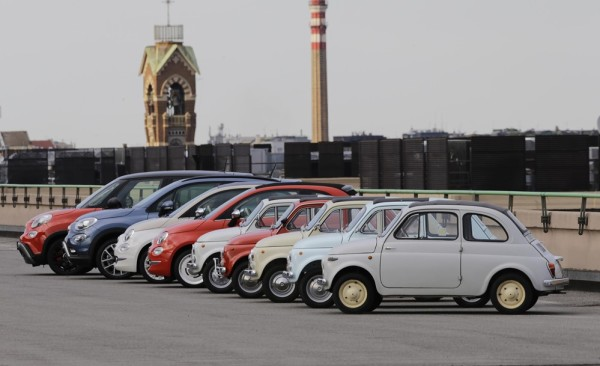 Fiat 500 60th 600x366 at Fiat 500 Celebrates its 60th with 10 Day Party