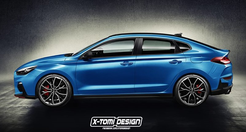 Hyundai i30 N Fastback at Hyundai i30 N Fastback Render Looks Intriguing