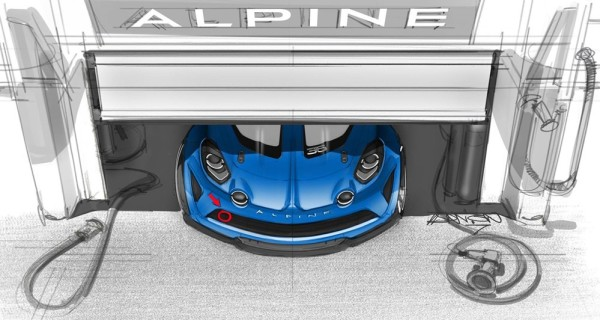 alpine a110 cup 600x320 at Alpine A110 Cup Race Car Officially Announced