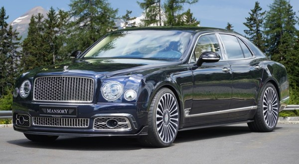 mansory mulsanne 0 600x330 at Bentley Mulsanne Gets Mild Upgrades from Mansory and Startech