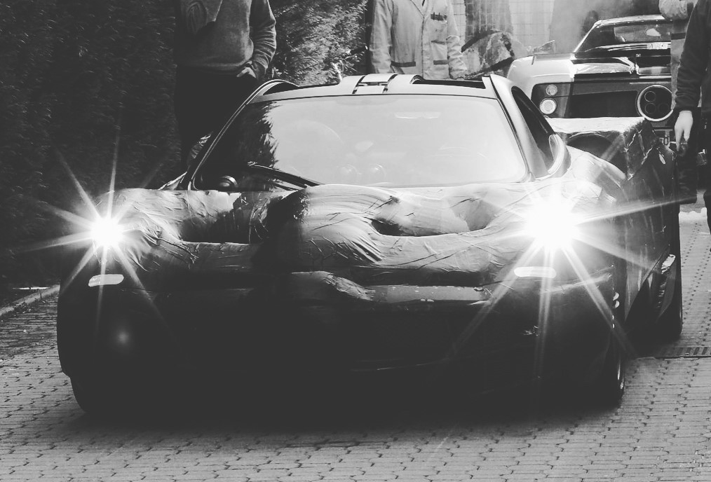 pagani test mule 1 at New Pagani Huayra Variant Teased by Chief Test Driver