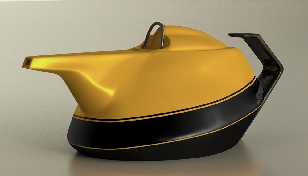yellow teapot 1 at Renault Celebrates 40 Years in F1 with a Yellow Teapot