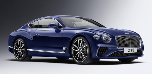 2018 Bentley Continental GT 0 600x291 at 2018 Bentley Continental GT Officially Unveiled