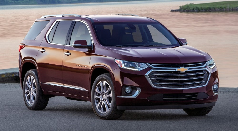 at 2018 Chevrolet Traverse Pricing and Specs