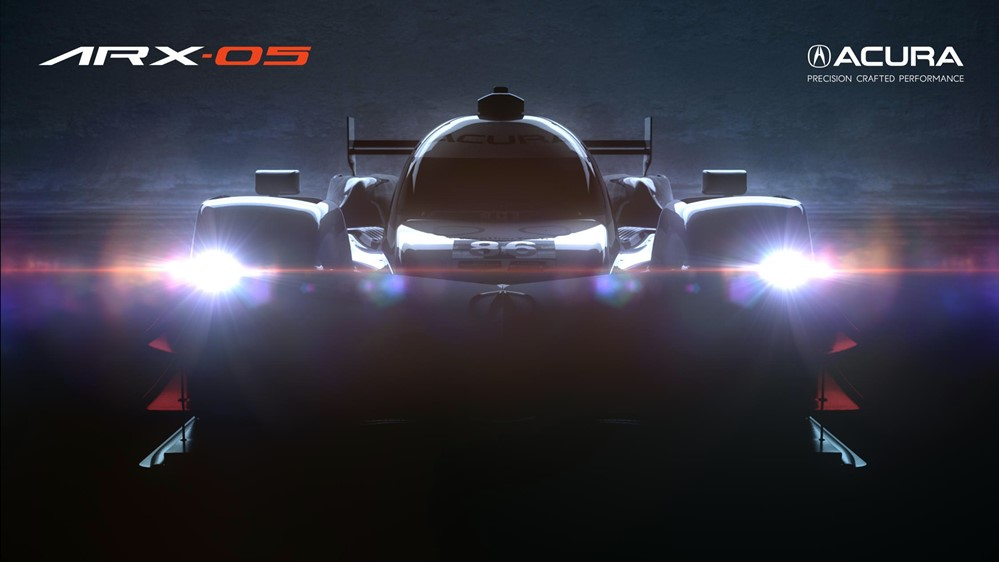 ARX 05 HERO logo 2 at Acura ARX 05 Prototype Set for Quail Debut