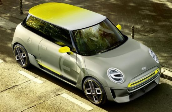 MINI Electric Concept 0 550x360 at MINI Electric Concept Set for IAA Debut