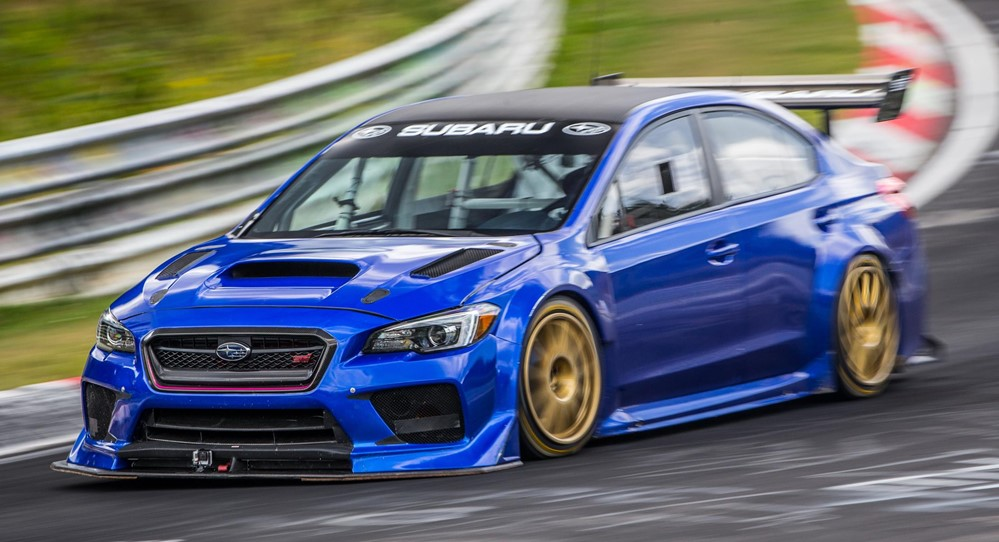 Subaru WRX STI Type RA NBR 1 at What Are the Best Performance Mods for the Subaru WRX?