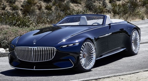 Vision Mercedes Maybach 6 Cabriolet 0 600x329 at Official: Vision Mercedes Maybach 6 Cabriolet