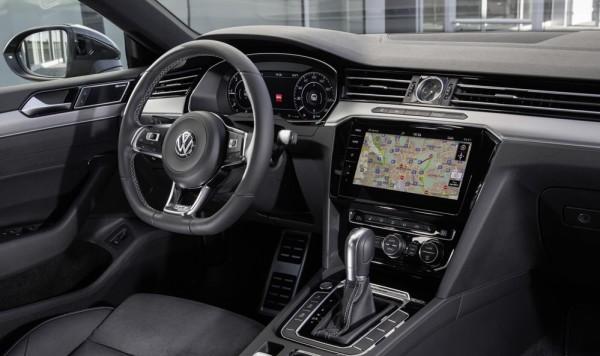 Volkswagen Arteon 3 600x356 at 2018 VW Arteon   UK Pricing and Specs