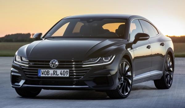 Volkswagen Arteon R Line 13 600x352 at 2018 VW Arteon   UK Pricing and Specs