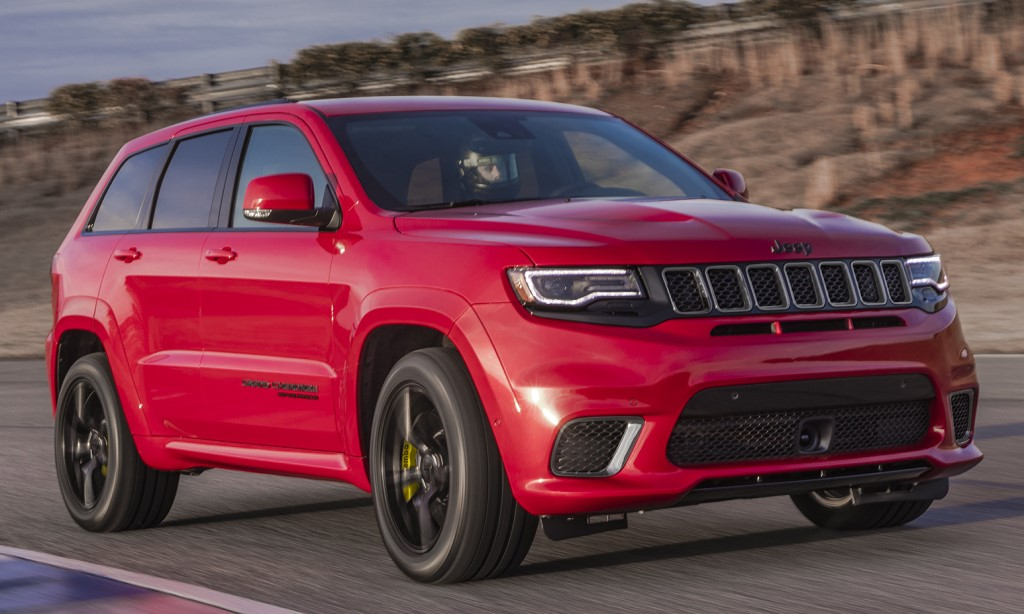 2018 Jeep Grand Cherokee Trackhawk Starts at $85,900