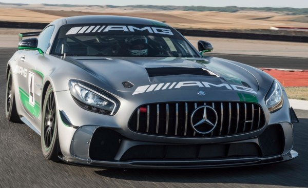 mercedes amg gt4 1 600x367 at Official: Mercedes AMG GT4 Customer Racing Car