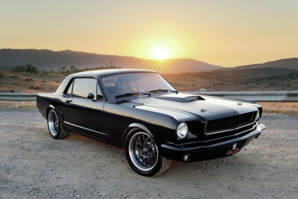 1965 ford mustang coupe black 600x400 at The Story of the Mustang on Top of the World