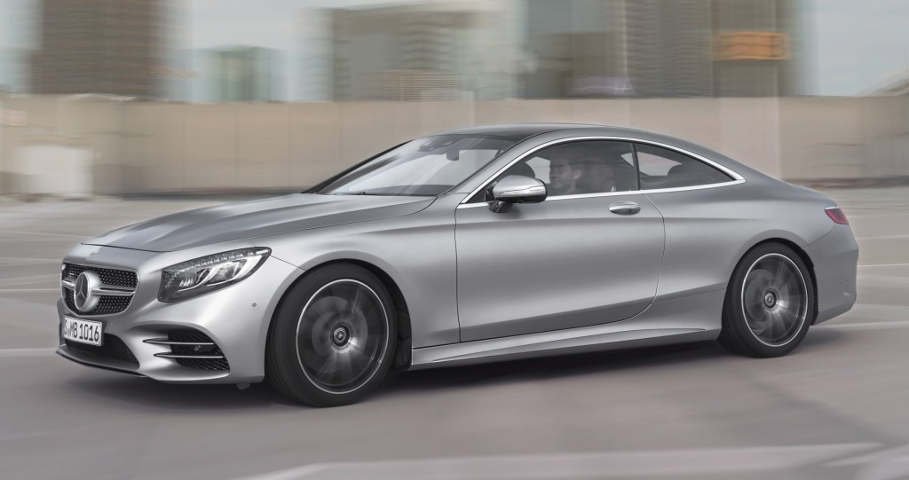 2018 mercedes s class coupe and cabrio pricing announced. Black Bedroom Furniture Sets. Home Design Ideas