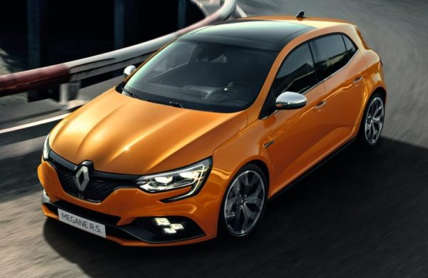 2018 Renault Megane RS 0 600x390 at 2018 Renault Megane RS Revealed with 300 Horsepower