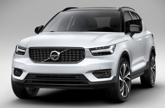 2018 Volvo XC40 0 550x360 at 2018 Volvo XC40 Urban Crossover Officially Unveiled