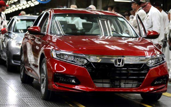 2018 honda accord production 2 600x375 at 2018 Honda Accord Production Starts at Ohio Plant