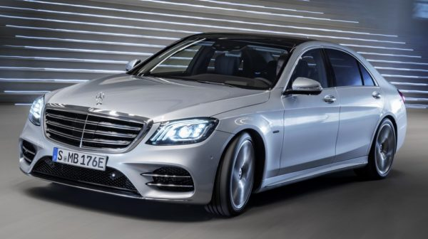 2019 Mercedes Benz S560e 0 600x336 at 2019 Mercedes Benz S560e Plug In Hybrid Announced