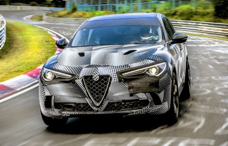 Alfa Romeo Stelvio QV Sets Nurburgring Record 2 730x468 at Alfa Romeo Stelvio QV Sets Nurburgring Record for Fastest SUV