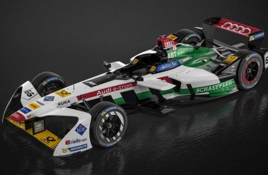 Audi e tron FE04 Formula E 0 550x360 at Audi e tron FE04 Formula E electric Racer Revealed for New Season